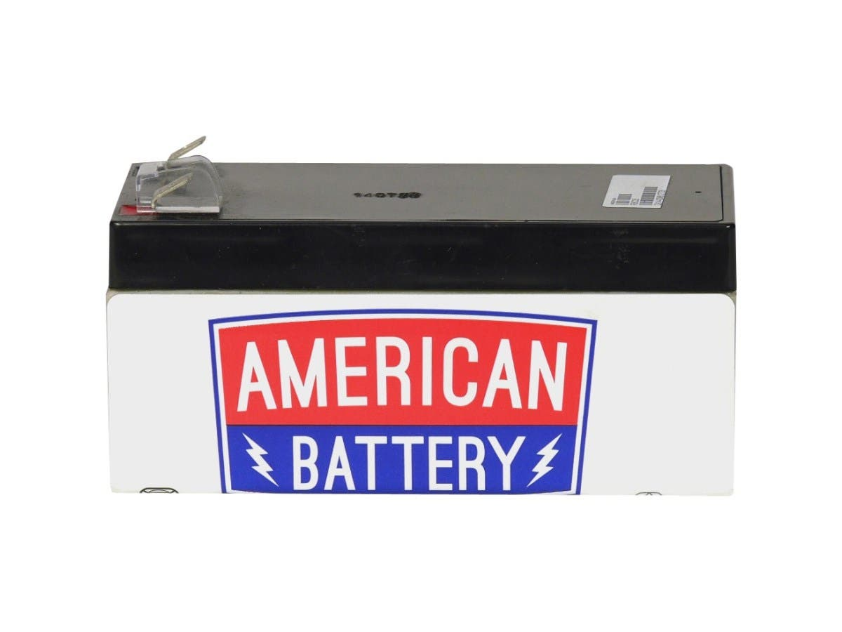 ABC Replacement Battery Cartridge - 3200 mAh - 12 V DC - Sealed Lead Acid - Maintenance-free - Hot Swappable - 3 Year Minimum Battery Life - 5 Year Maximum Battery Life-Large-Image-1