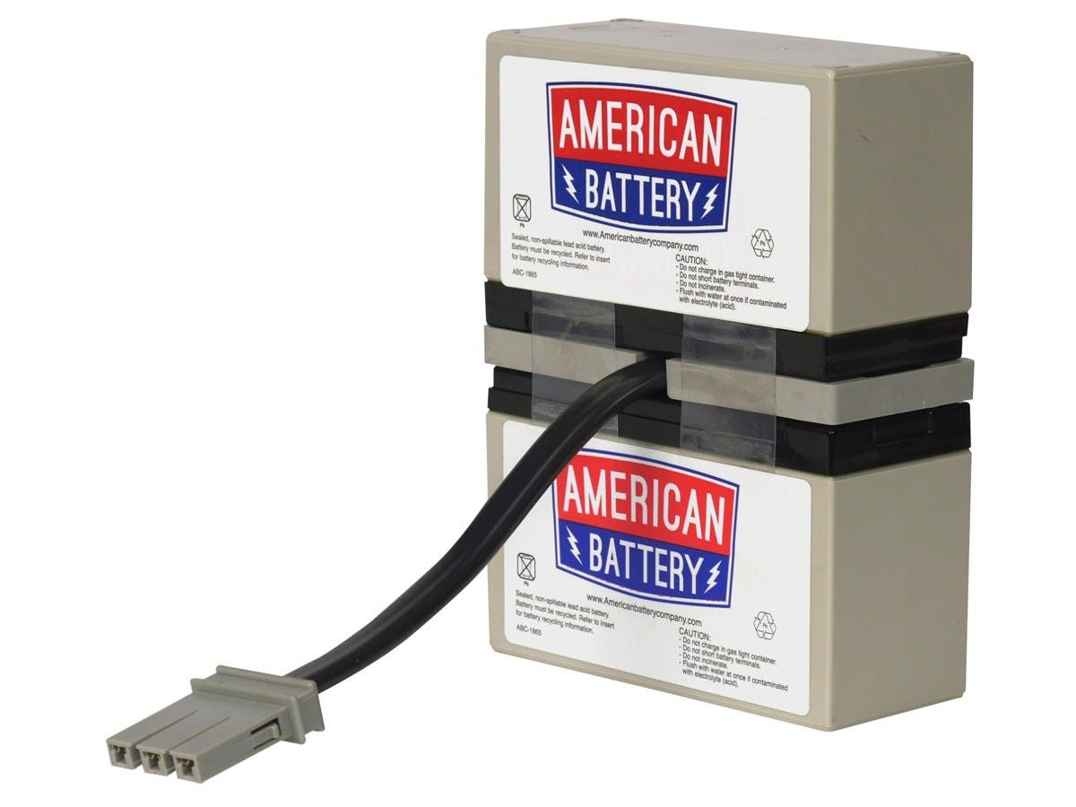 ABC Replacement Battery Cartridge #33 - Sealed Lead Acid - Leak Proof/Maintenance-free - 3 Year Minimum Battery Life - 5 Year Maximum Battery Life