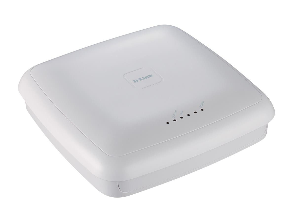 D-Link DWL-3600AP IEEE 802.11n 300 Mbit/s Wireless Access Point - ISM Band - 2 x Antenna(s) - 1 x Network (RJ-45) - PoE Ports - Desktop
