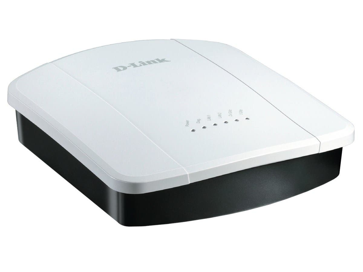 D-Link DWL-8610AP IEEE 802.11ac 300 Mbps Wireless Access Point - ISM Band - UNII Band-Large-Image-1