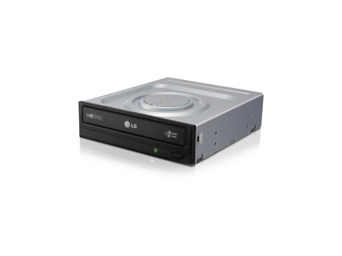 LG Electronics GH24NSC0R 24X SATA Super-Multi DVD Internal Rewriter-Large-Image-1