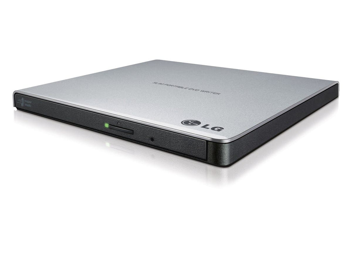 LG Electronics 8X USB 2.0 Super Multi Ultra Slim Portable DVD+/-RW External Drive with M-DISC Support