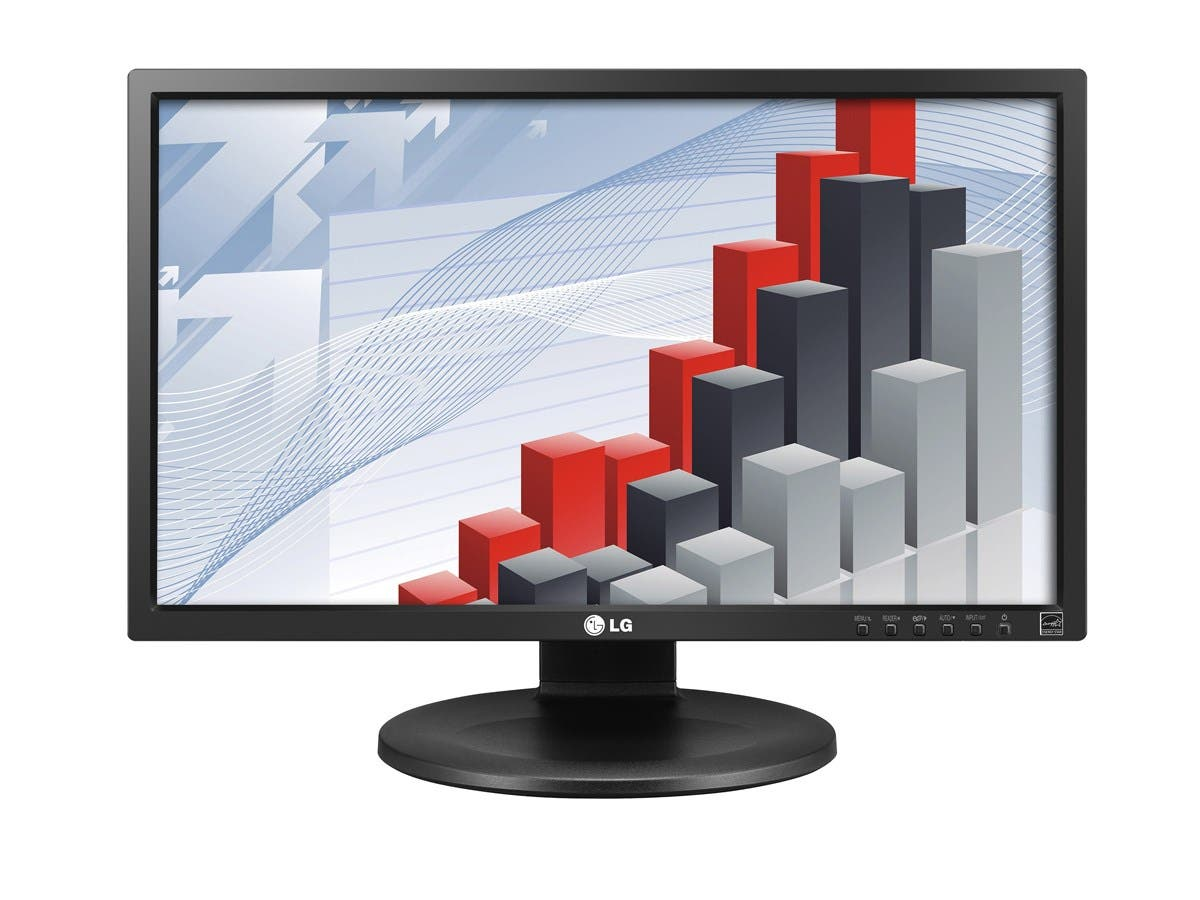"LG 24MB35P-B 24"" LED LCD Monitor - 16:9 - 5 ms - Adjustable Display Angle - 1920 x 1080 - 16.7 Million Colors - 250 Nit - 5,000,000:1 - Full HD - DVI - VGA - 31 W - Matte Black - TCO Certified"
