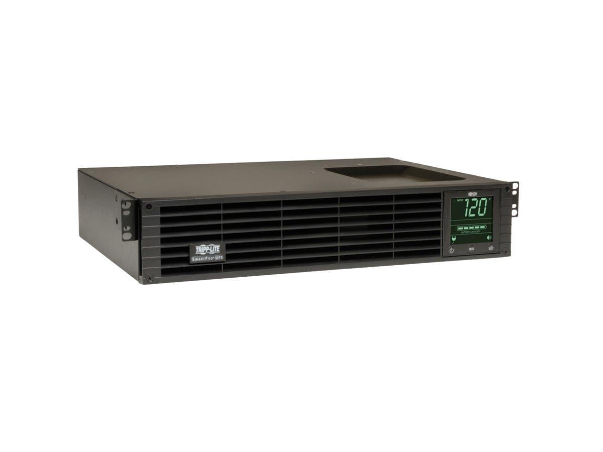 Tripp Lite UPS Smart 1000VA 800W Rackmount AVR 120V Pure Sine Wave USB DB9 SNMP 2URM - 1000VA/800W - 5.3 Minute Full Load - 6 x NEMA 5-15R