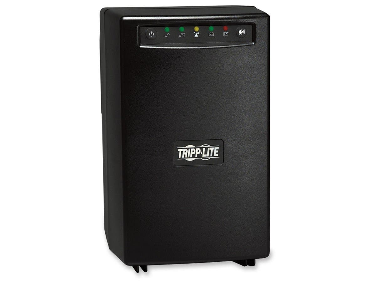 Tripp Lite UPS 1500VA 940W Battery Back Up Tower AVR 120V RJ11 RJ45 - 1500 VA/940 W - 120 V AC - 5 Minute - Tower - 5 Minute - 2 x NEMA 5-15R, 6 x NEMA 5-15R