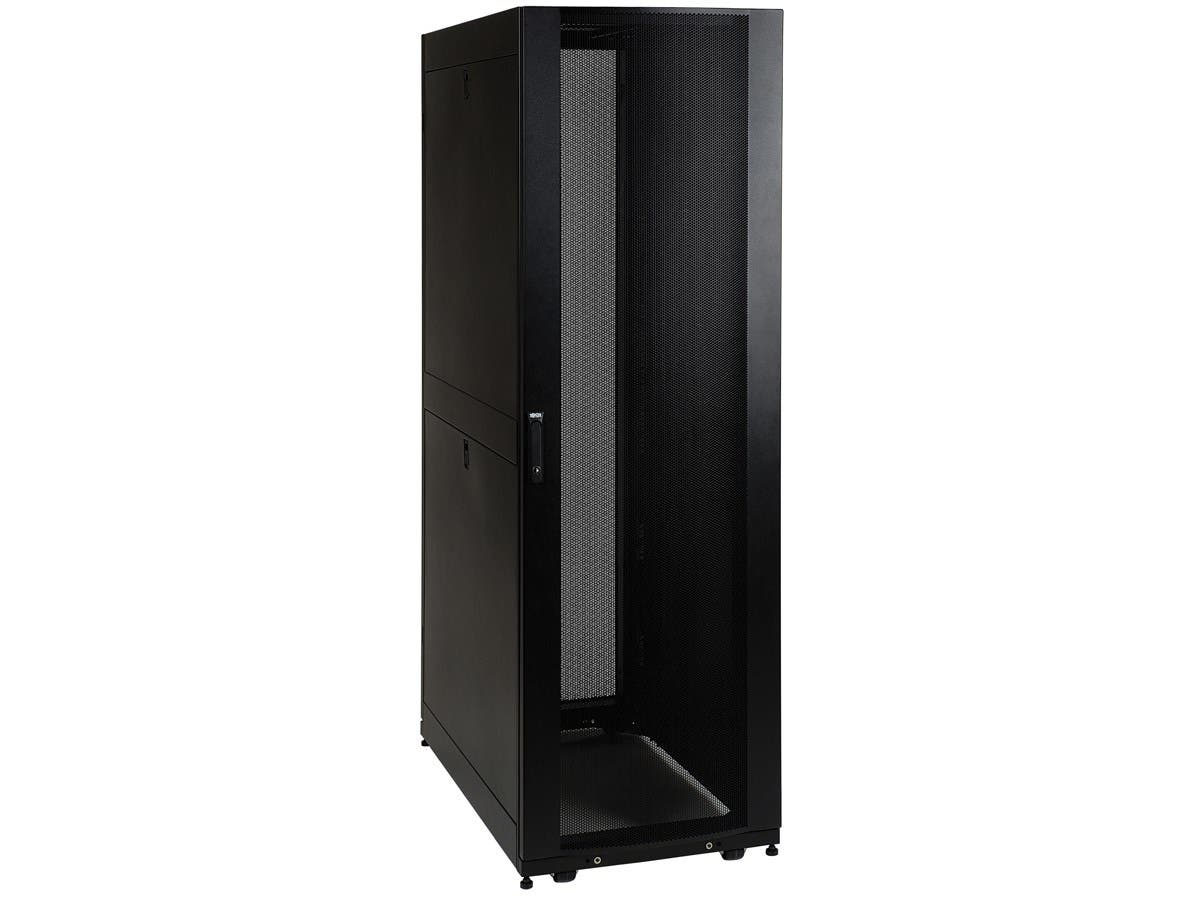 "Tripp Lite 42U Rack Enclosure Server Cabinet w/ Doors & Sides - 19"" 42U-Large-Image-1"