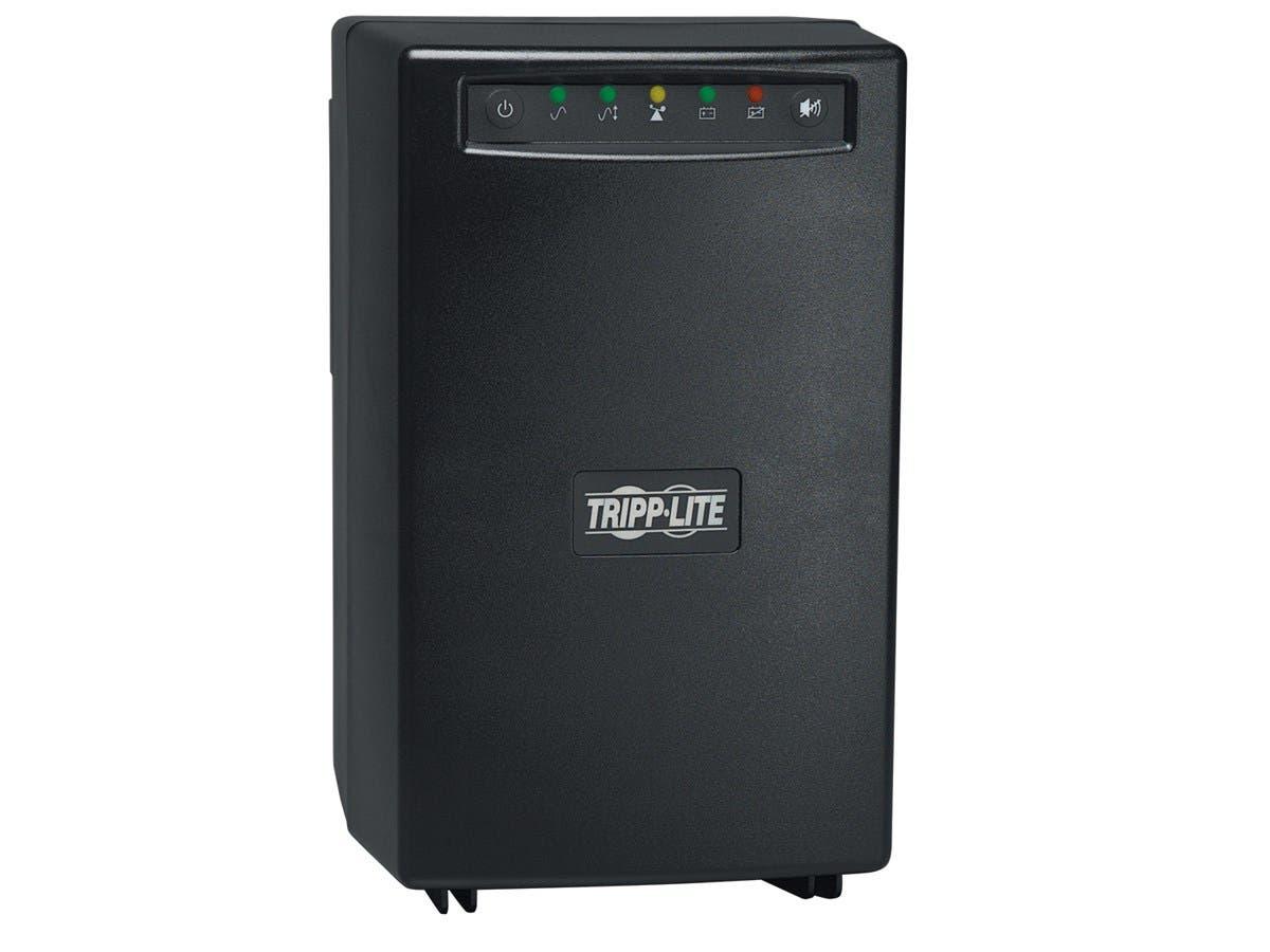 Tripp Lite UPS 750VA 500W Battery Back Up Tower Isolation Transformer 120V - 750VA - 6 x NEMA 5-15R-Large-Image-1