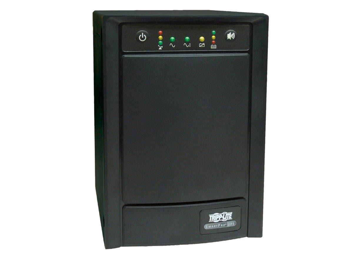 Tripp Lite UPS Smart 750VA 500W Tower AVR 100V-120V Pure Sign Wave USB DB9 SNMP RJ45 - 750VA/500W - 10 Minute Full Load - 8 x NEMA 5-15R