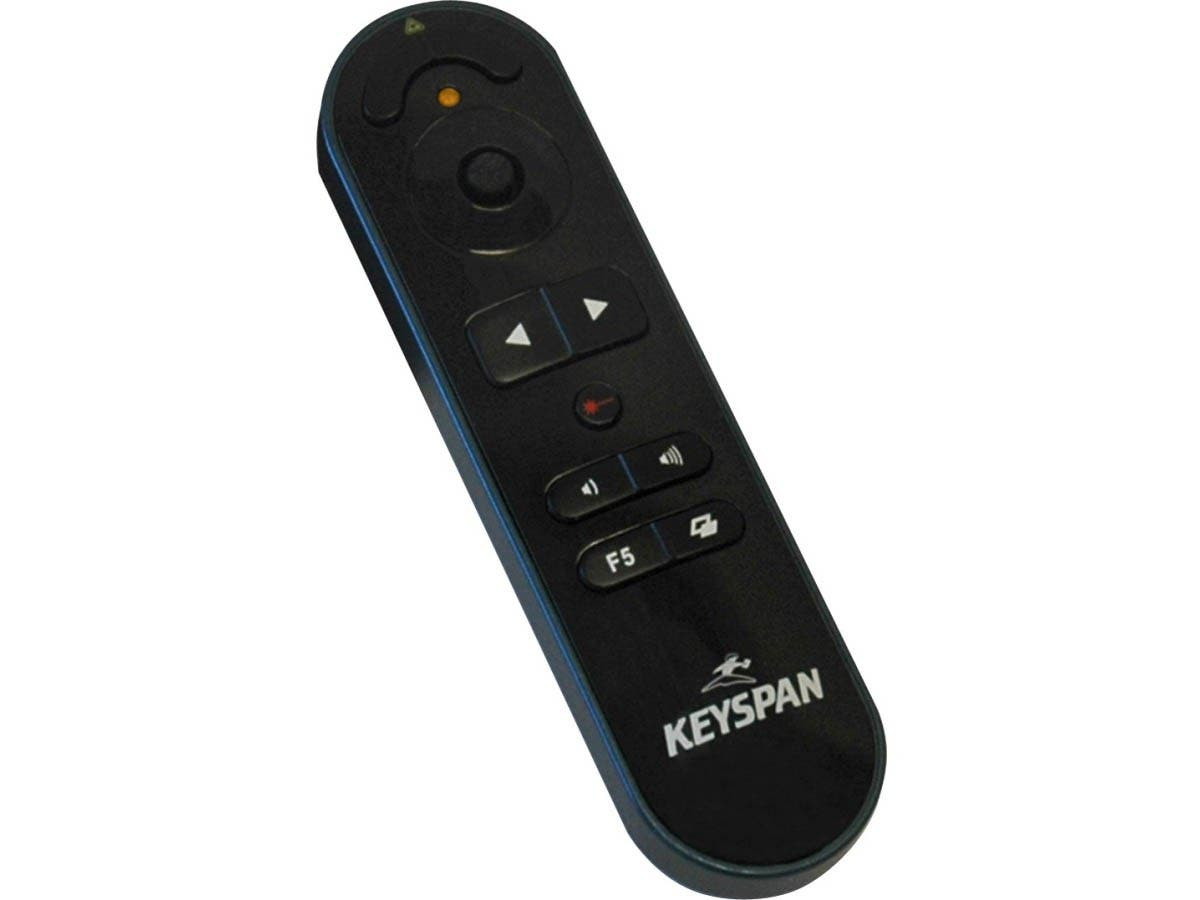 Tripp Lite Keyspan Presentation Pro Wireless Remote Conrtol w/ Laser/ Mouse / Audio Black 100ft - PC - 100 ft-Large-Image-1