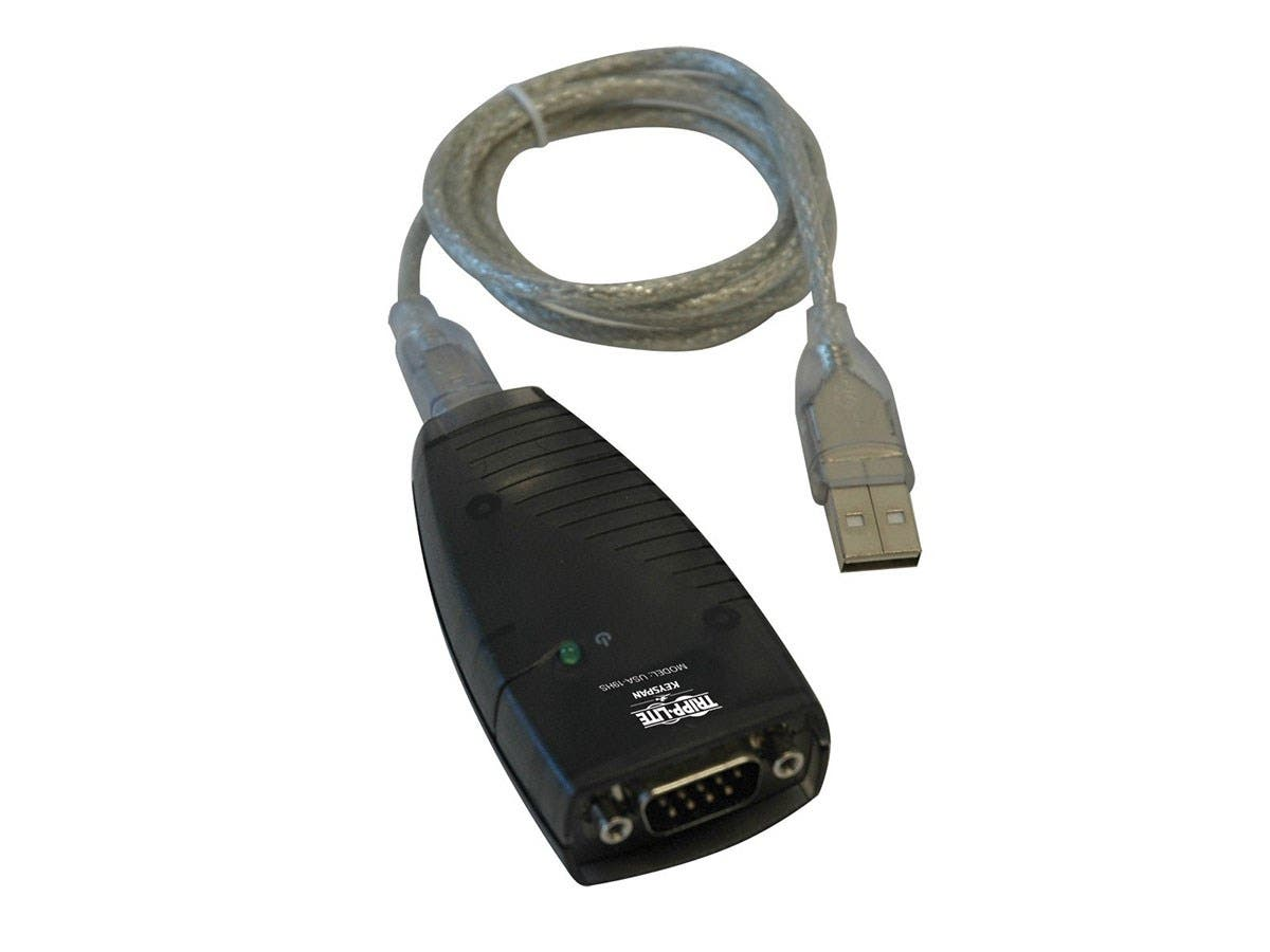 "Tripp Lite Keyspan High Speed USB to Serial Adapter - Type A Male, DB-9 Male""-Large-Image-1"