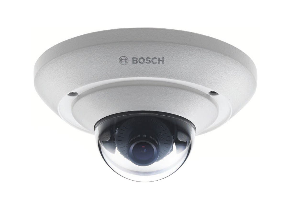 Bosch FlexiDome Network Camera - Color, Monochrome - Board Mount - 1920 x 1080 - CMOS - Cable - Fast Ethernet