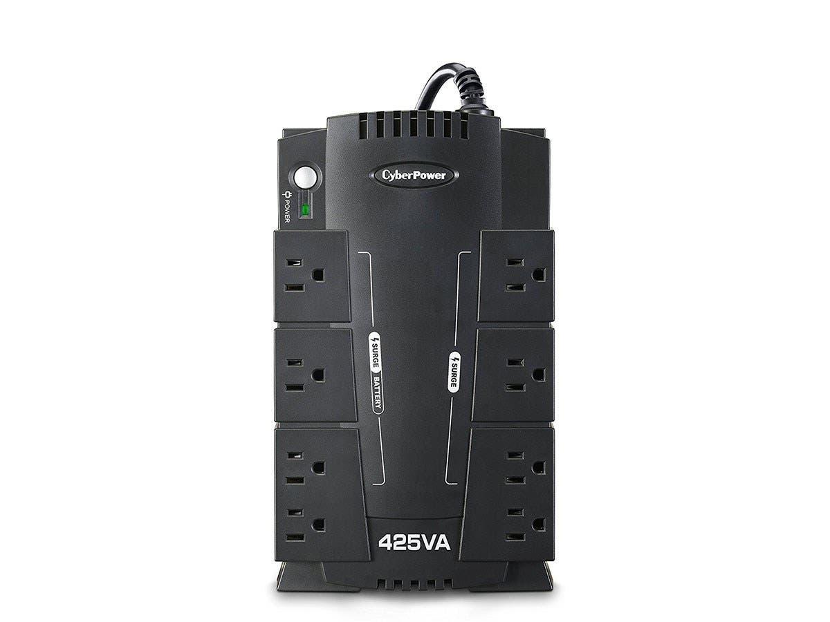 CyberPower Standby CP425SLG 425 VA Desktop UPS - 425 VA/255 W - Desktop - Full Load Runtime 2 Minute - 4 x NEMA 5-15R-Large-Image-1