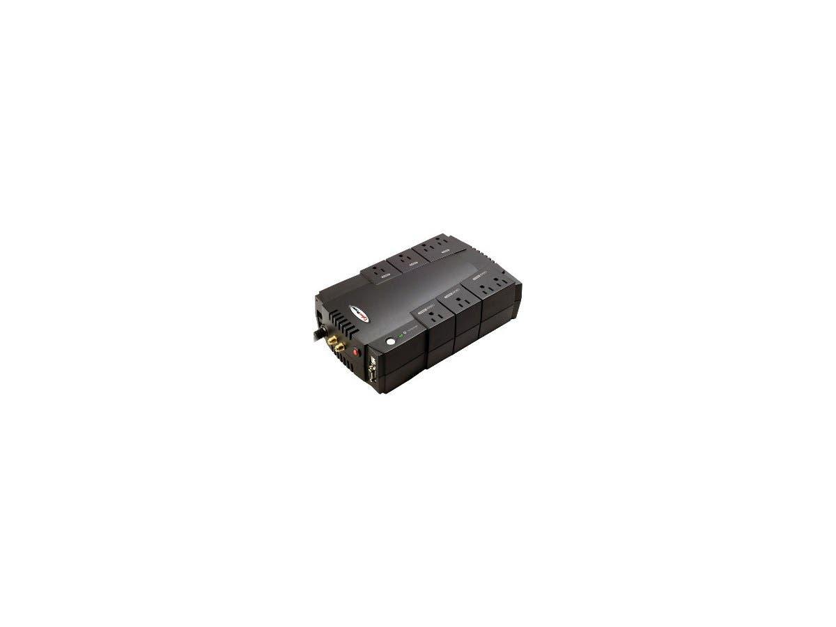 CyberPower AVR CP685AVR 685VA UPS - 685VA/390W - 10 Minute Half Load - 4 x NEMA 5-15R - Battery/Surge-protected, 4 x NEMA 5-15R - Surge-protected