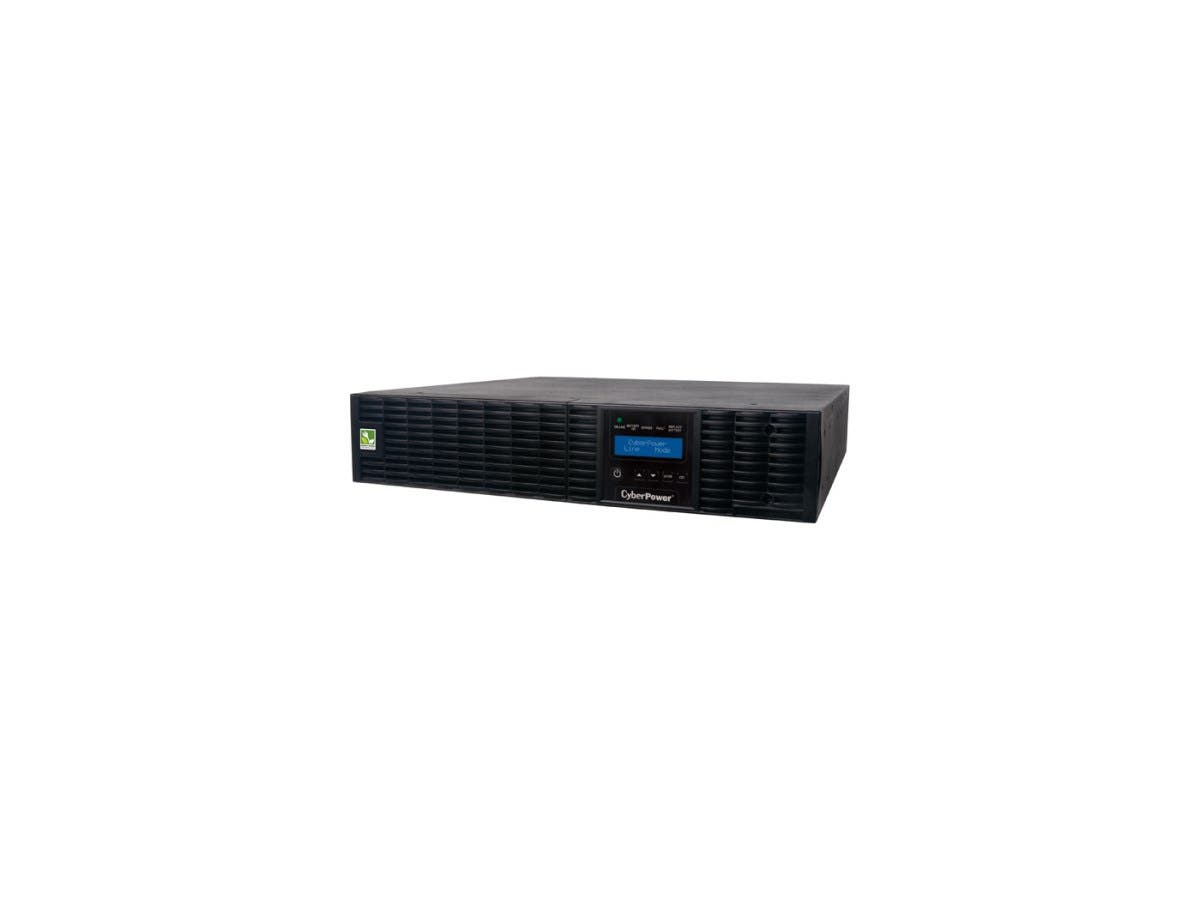 CyberPower Smart App Online OL1500RTXL2U 1500VA 100-125V Pure Sine Wave LCD Rack/Tower UPS - 1.5kVA 3 Minute Full Load - 8 x NEMA 5-15R