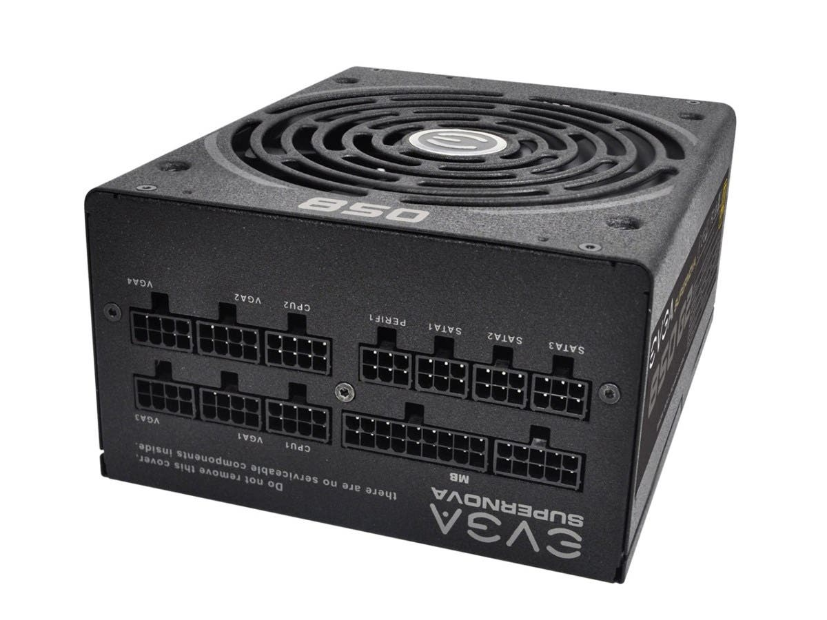 EVGA SuperNOVA 850 G2, 80+ GOLD 850W, Fully Modular, EVGA ECO Mode, 10 Year Warranty, Includes FREE Power On Self Tester, Power Supply 220-G2-0850-XR-Large-Image-1