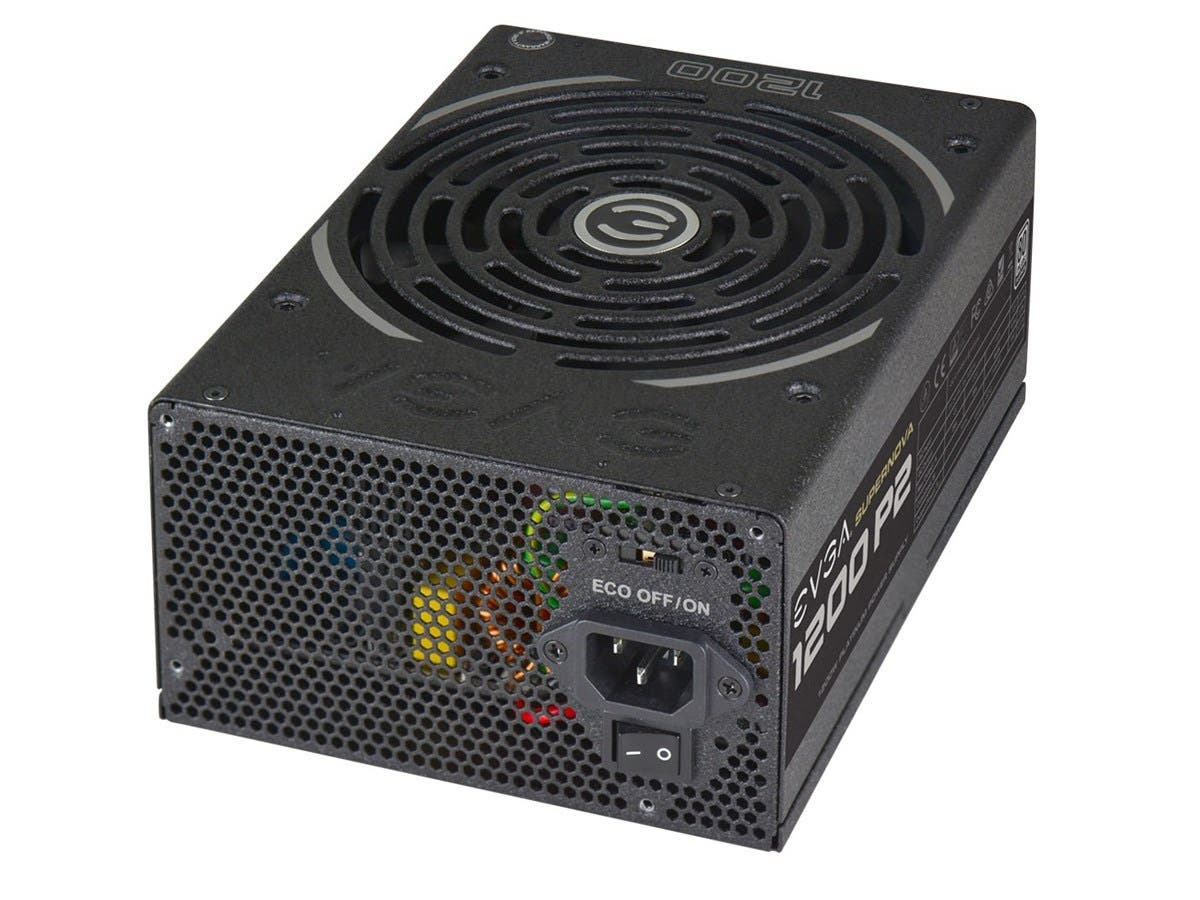 EVGA SuperNOVA 1200 P2 Power Supply - ATX12V/EPS12V - 120 V AC, 230 V AC Input Voltage - 3.3 V DC, 5 V DC, 12 V DC, -12 V DC, 5 V DC Output Voltage - 1 Fans - Internal - Modular - NVIDIA SLI Supported