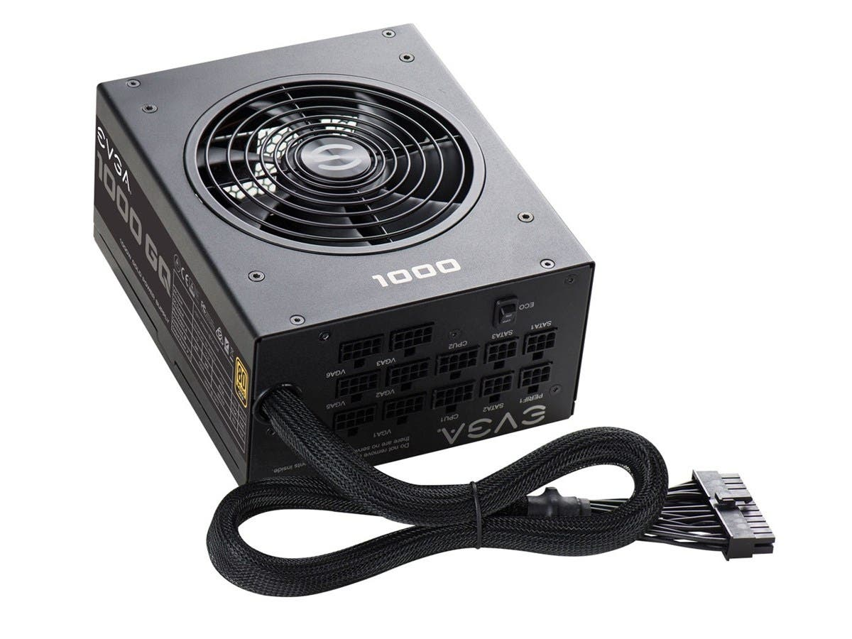 EVGA 1000GQ, 80+ GOLD 1000W, Semi Modular, EVGA ECO Mode, 5 Year Warranty, Power Supply 210-GQ-1000-V1 by EVGA-Large-Image-1