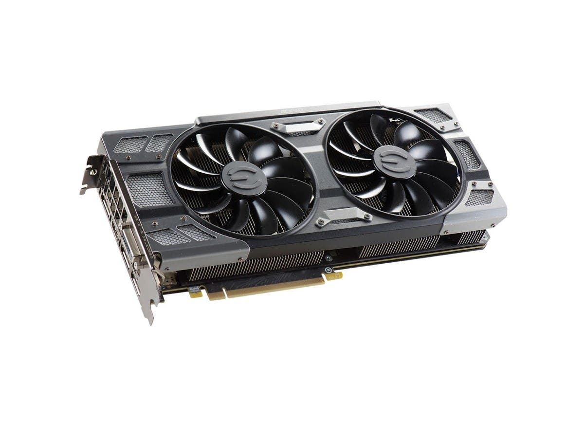 EVGA GeForce GTX 1080 FTW DT GAMING ACX 3.0, 8GB GDDR5X, RGB LED, 10CM FAN, 10 Power Phases, Double BIOS, DX12 OSD Support (PXOC) Graphics Card 08G-P4-6284-KR