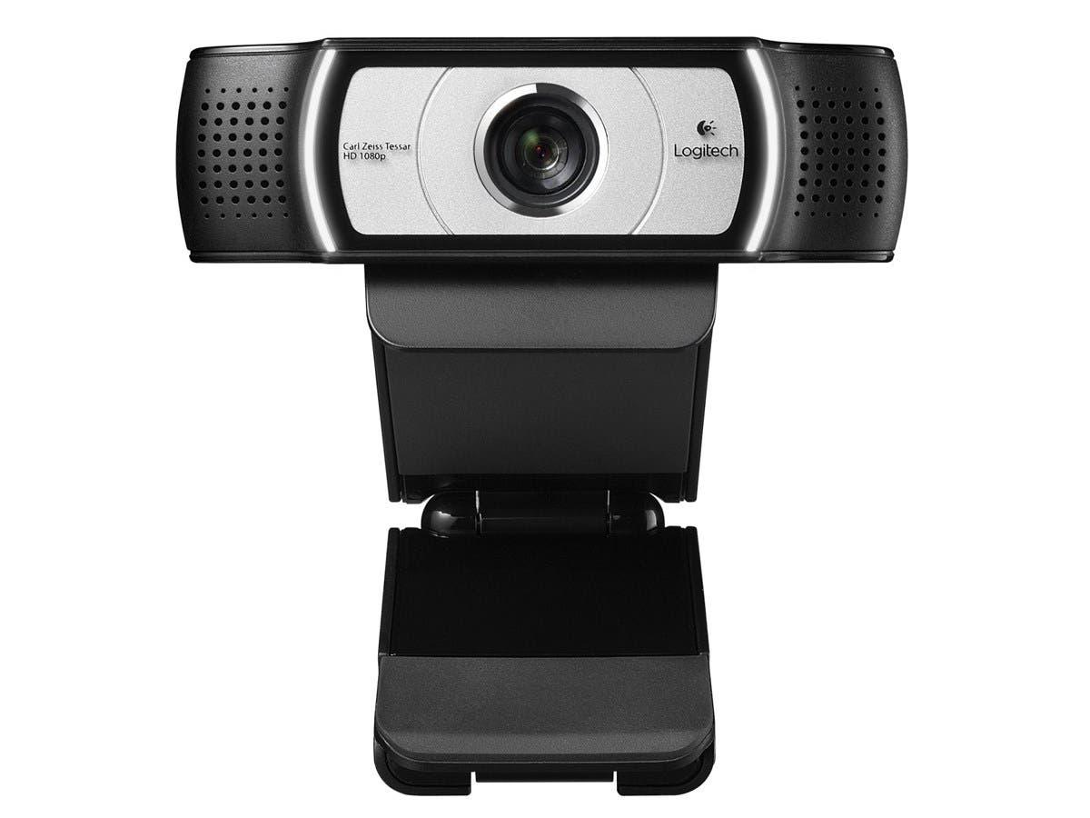 Logitech C930e Webcam - 30 fps - USB 2.0 - 1920 x 1080 Video - Auto-focus - 4x Digital Zoom-Large-Image-1