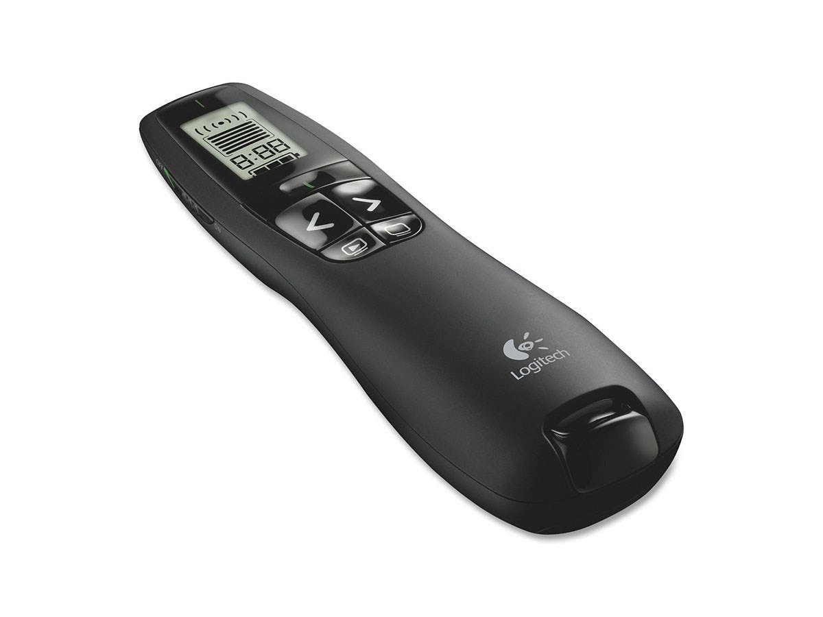 Logitech R800 Presentation Remote Control - 100 ft Wireless-Large-Image-1