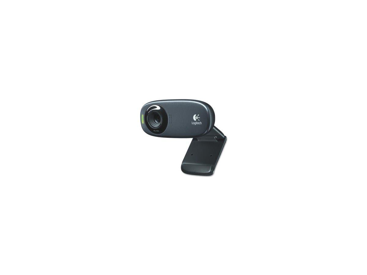Logitech C310 Webcam - Black - USB 2.0 - 1 Pack(s) - 1280 x 720 Video-Large-Image-1
