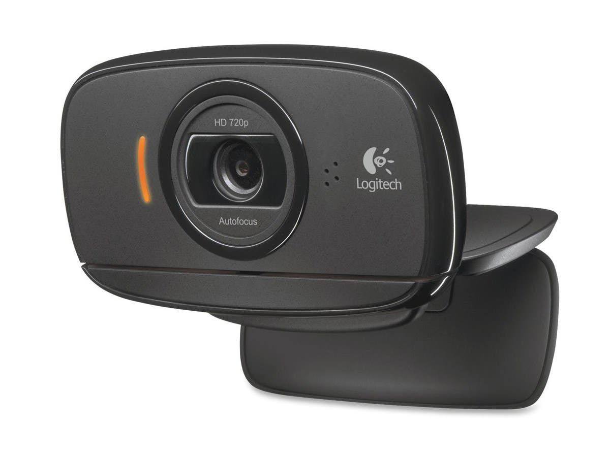 Logitech C525 Webcam - Black - USB 2.0 - 1 Pack(s) - 8 Megapixel Interpolated - 1280 x 720 Video - Auto-focus - Widescreen - Microphone-Large-Image-1
