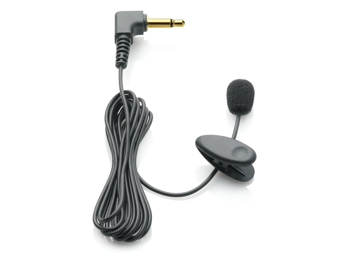Philips Speech Tie/Collar Clip Microphone - Condenser - Lapel - 50Hz to 20kHz - Wired-Large-Image-1