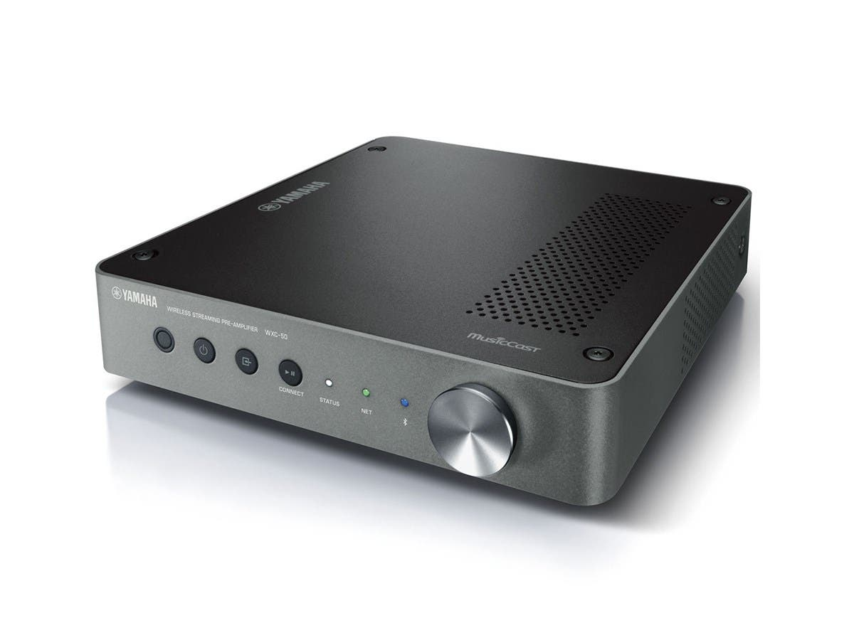 Yamaha WXC-50 MusicCast Wireless Streaming Preamplifier - Dark Silver