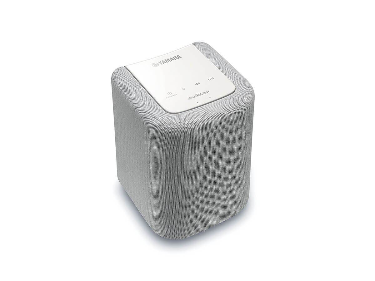 Yamaha MusicCast WX-010 Wireless Speaker - White-Large-Image-1