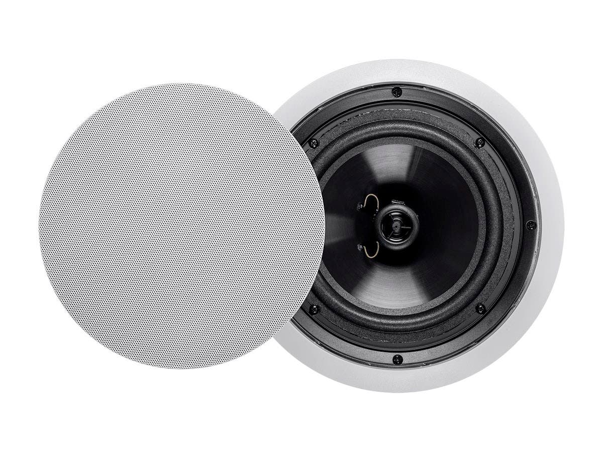 Aria Ceiling Speakers 8in Polypropylene 2-Way (pair)-Large-Image-1