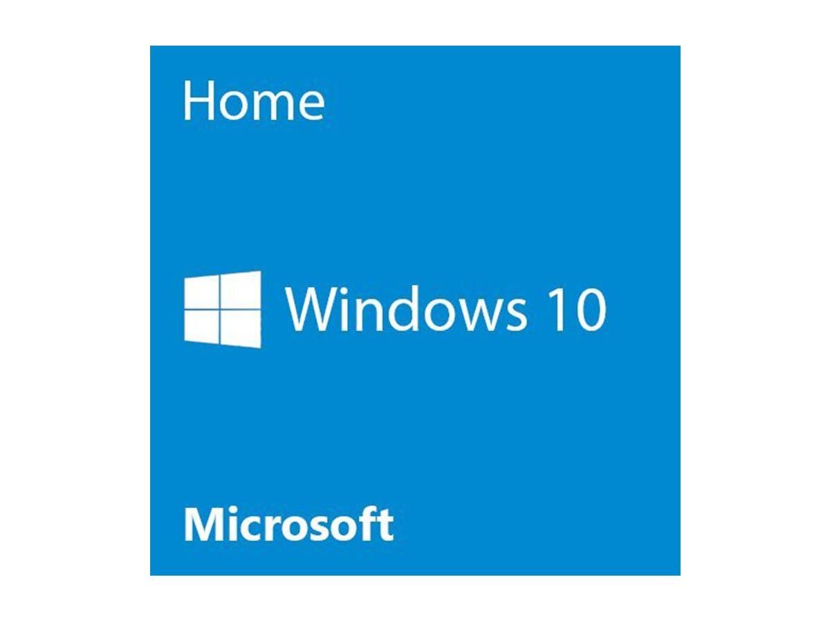 Microsoft Windows 10 Home - 64-bit - DVD - 1 License - OEM