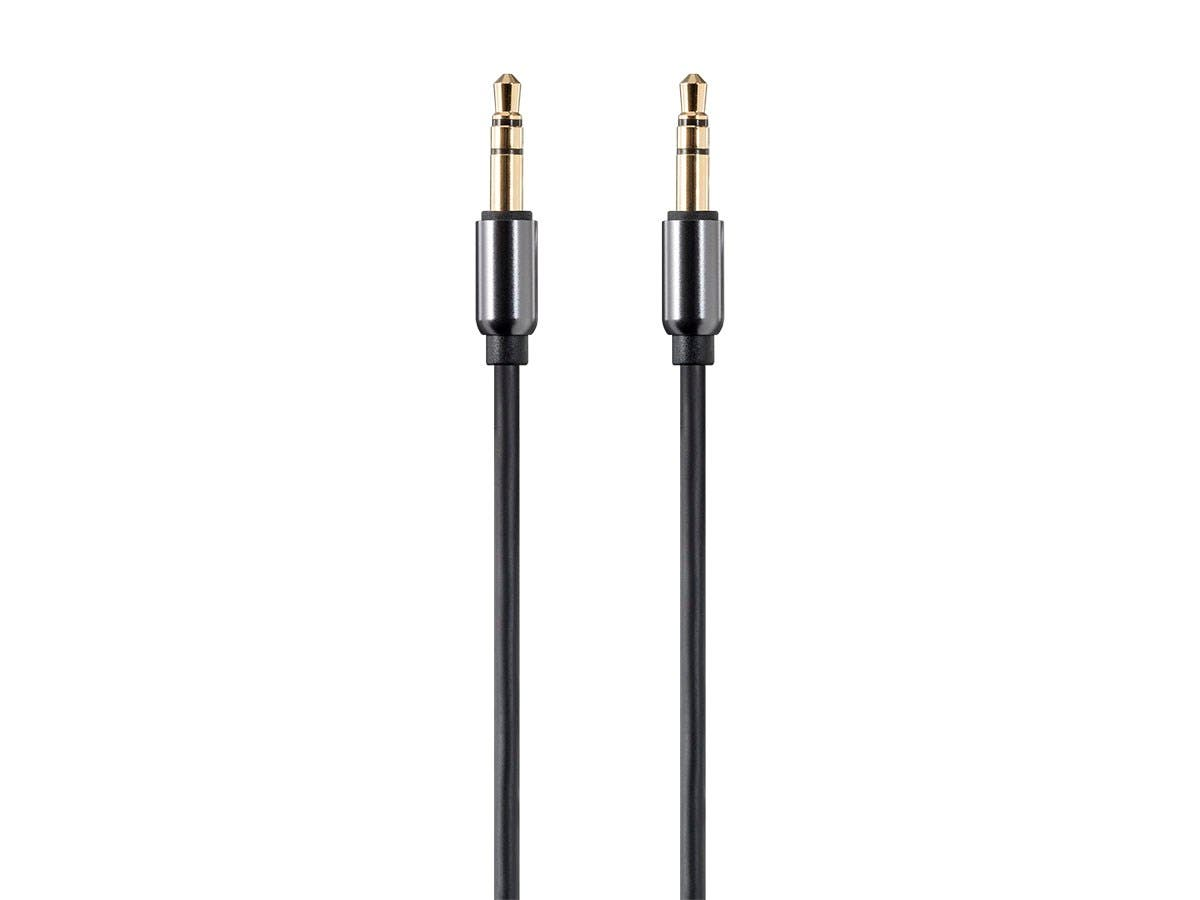 Monoprice Onyx Series Auxiliary 3.5mm TRS Audio Cable, 3ft-Large-Image-1