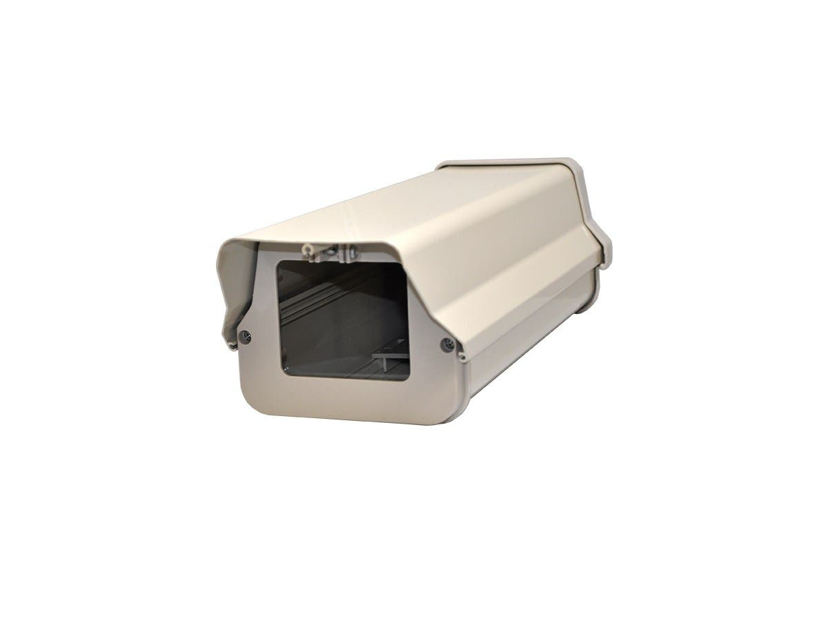 14-inch Outdoor Back Open Camera Housing with Heat and Fan