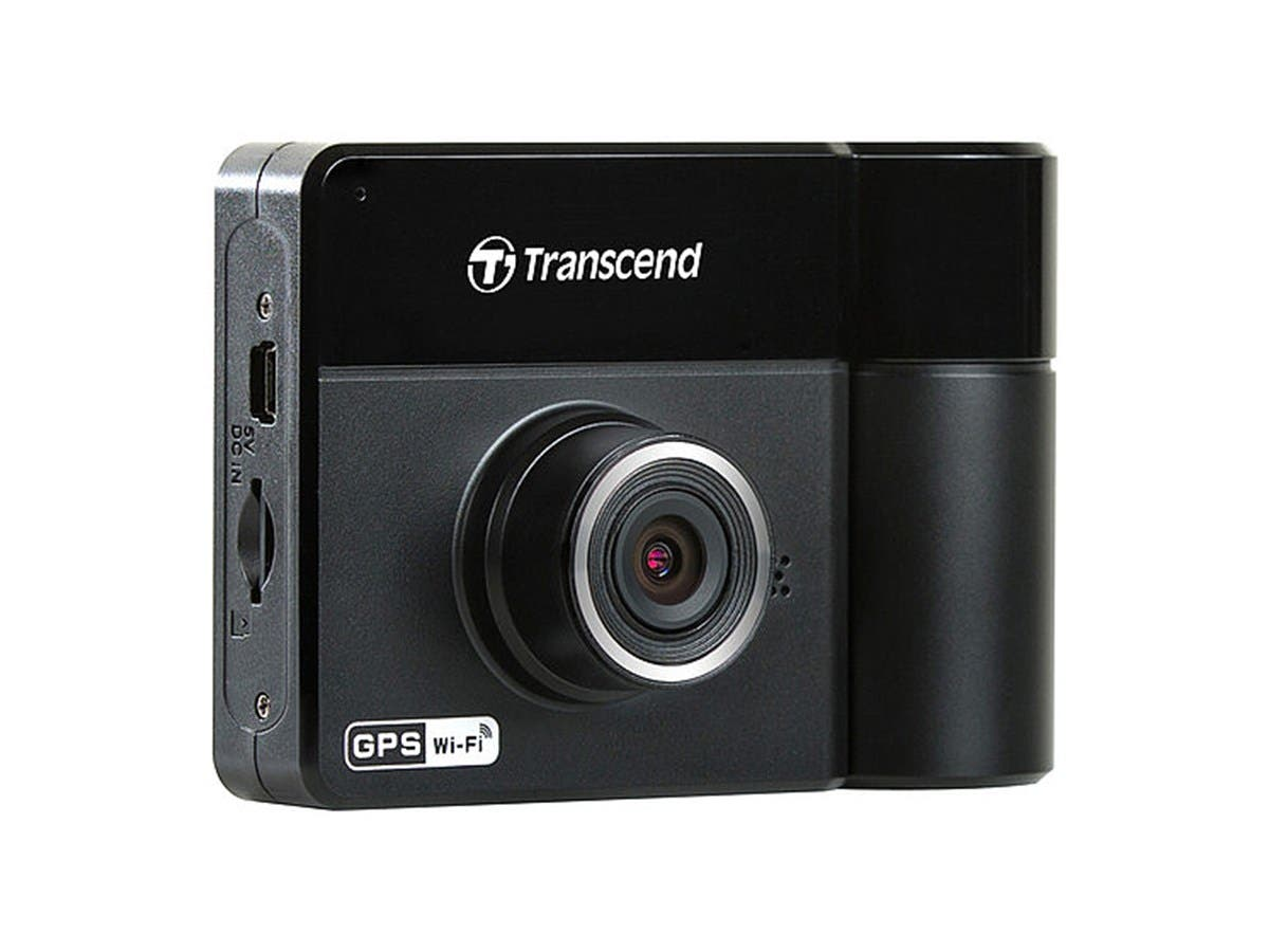 Transcend TS32GDP520M DrivePro 520 Car Recorder and GPS (Suction Mount) -Large-Image-1