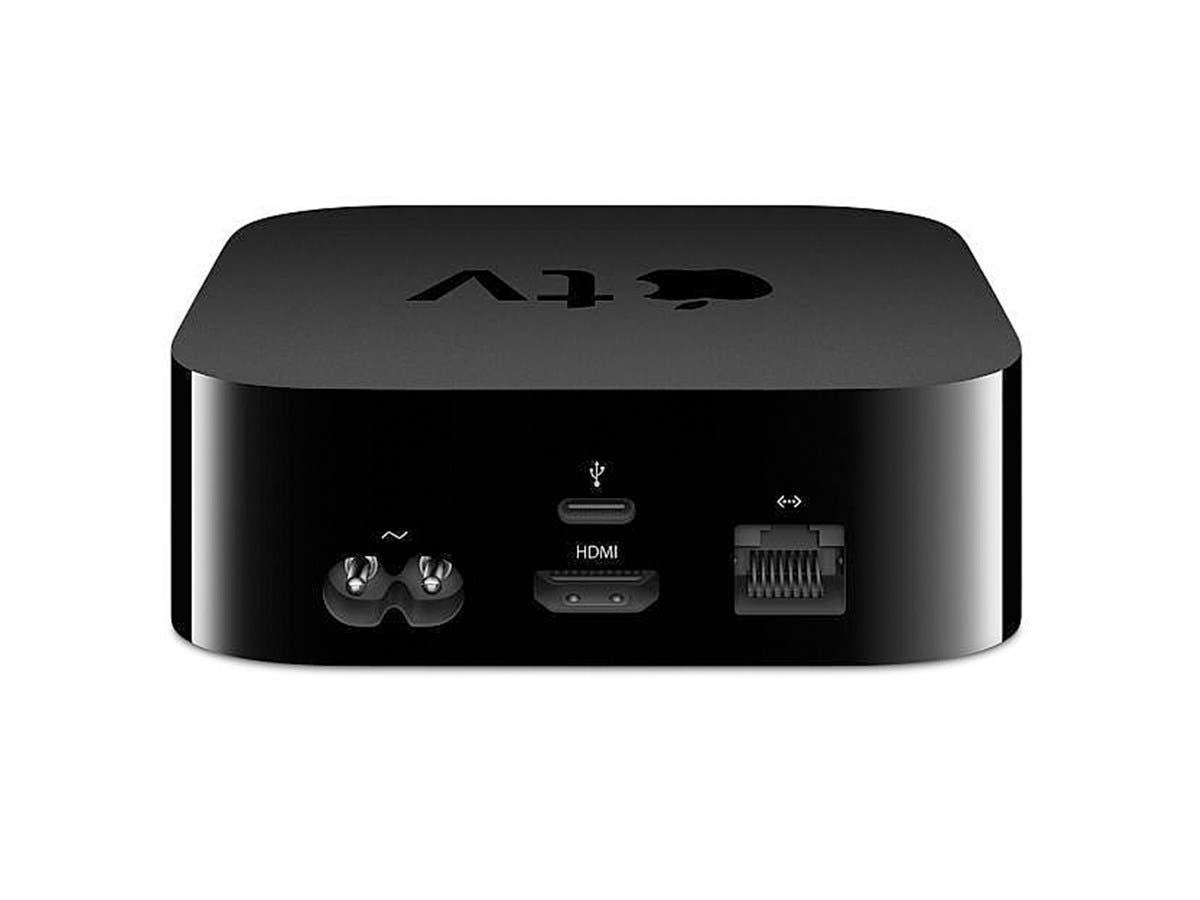 Apple TV Black 32GB, 4th Generation 1080p Wireless Multimedia Streamer MGY52LL/A-Large-Image-1
