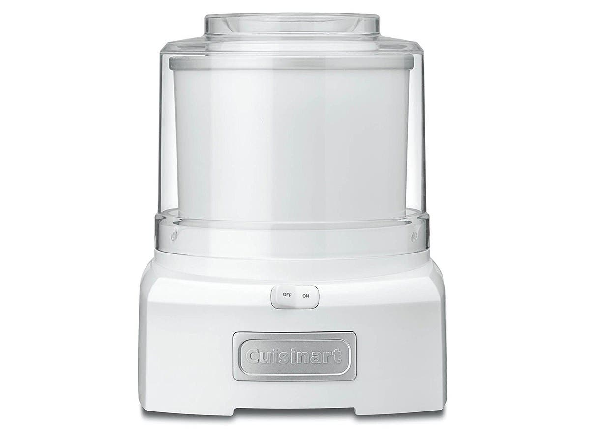 Cuisinart 1.5 Quart Frozen Yogurt-Ice Cream Maker - White - ICE-21