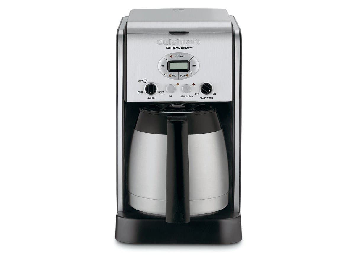 Cuisinart  Extreme Brew 10-Cup Thermal Programmable Coffeemaker - Silver - DCC-2750