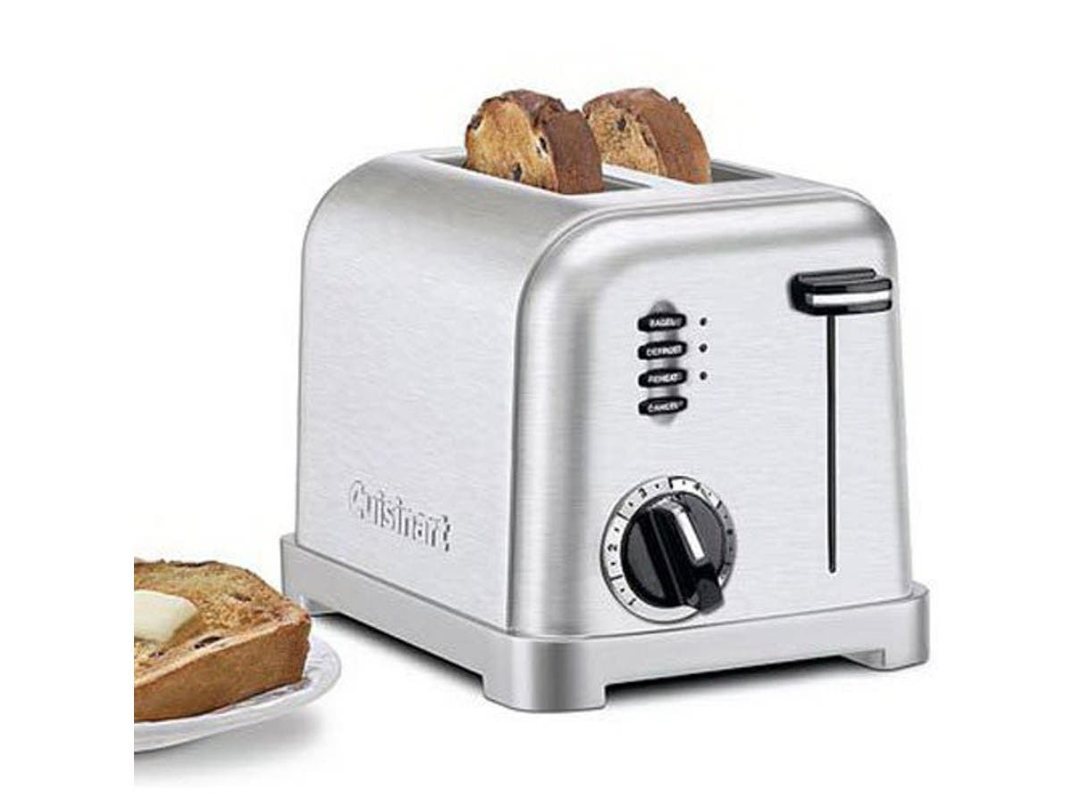 Cuisinart CPT-160 Metal Classic 2-Slice Toaster - Brushed Stainless