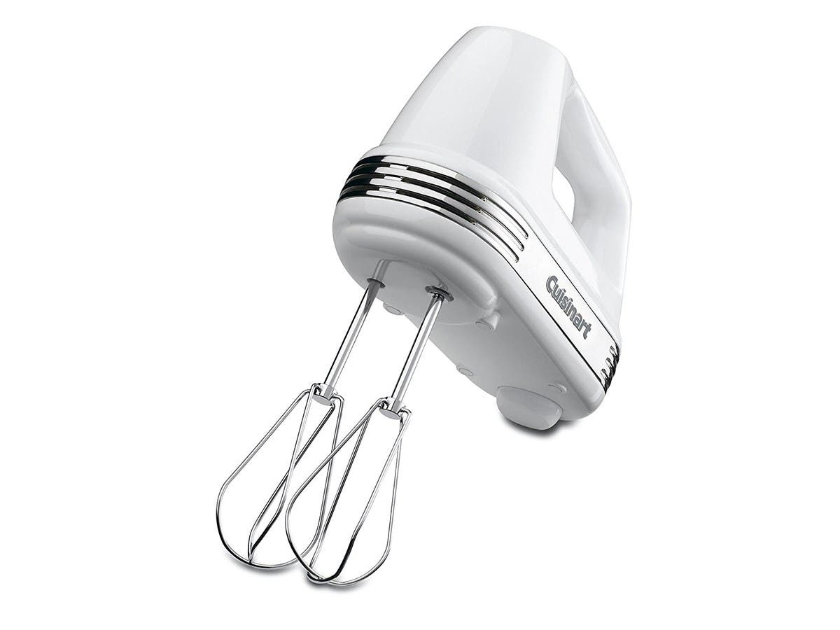 Cuisinart Power Advantage 7-Speed Hand Mixer - Stainless and White