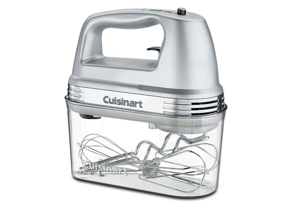 Cuisinart HM-90BCS Power Advantage Plus 9-Speed Handheld Mixer with Storage Case - Brushed Chrome