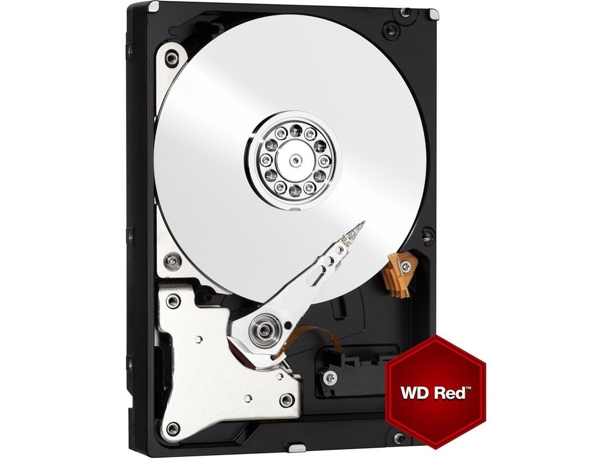 WD Red 3TB NAS Hard Disk Drive - 5400 RPM Class SATA 6 Gb/s 64MB Cache 3.5 Inch - WD30EFRX-Large-Image-1