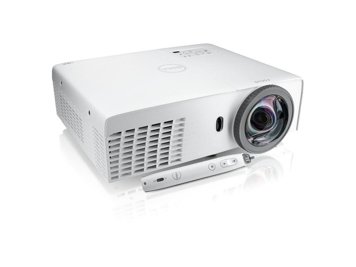 Dell S320wi 3D Ready DLP Projector - 720p - HDTV - 4:3 - 2.8 - 240 W - SECAM, NTSC, PAL - 4000 Hour Normal Mode - 5000 Hour Economy Mode - 1024 x 768 - XGA - 2,200:1 - HDMI - USB - VGA In - Ethernet -