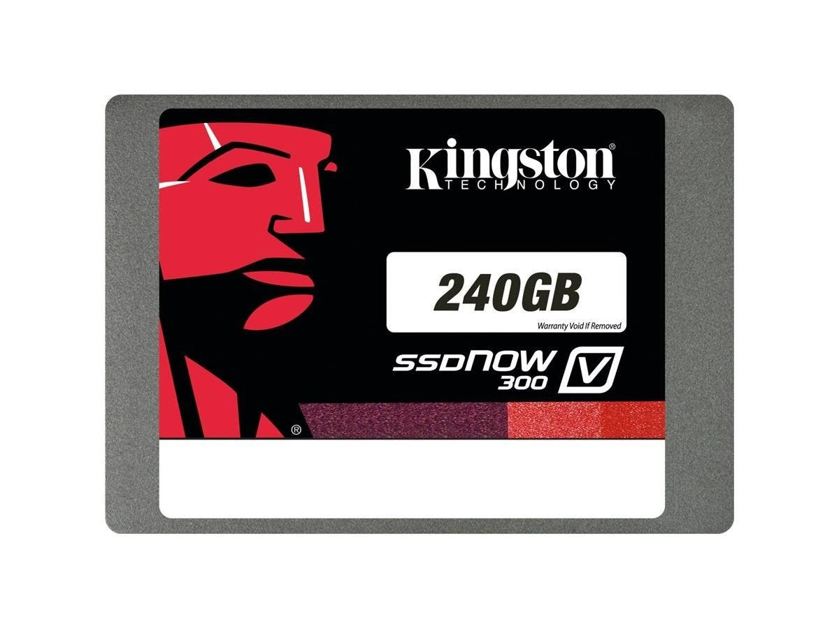 "Kingston SSD 2.5"" 240GB SATA III Internal Solid State Drive SV300S37A/240G-Large-Image-1"