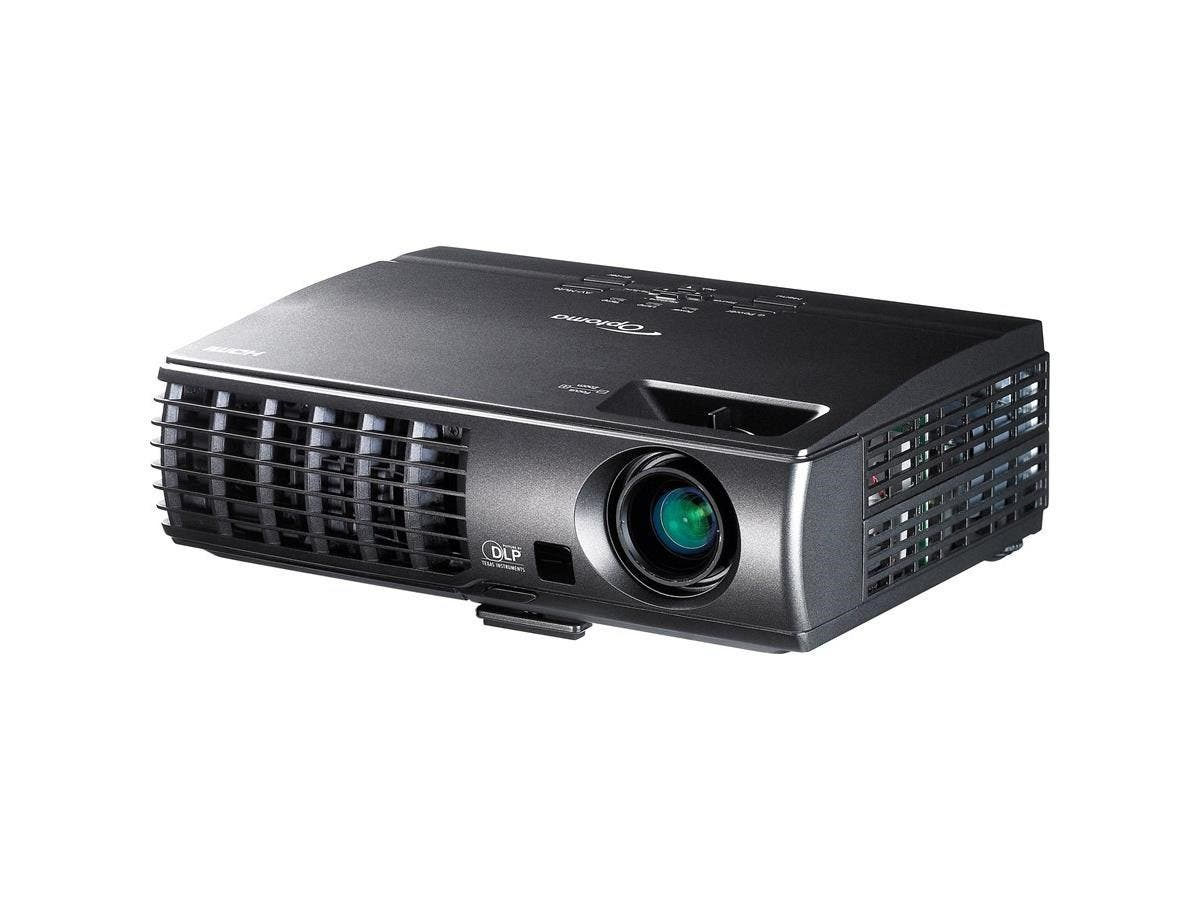 Optoma X304M XGA 3000 Lumen Full 3D Portable DLP Projector with HDMI - Front, Ceiling, Rear - F/2.55 - 2.72 - SHP - 220 W - SECAM, NTSC, PAL - 4000 Hour Normal Mode - 5000 Hour Economy Mode -Large-Image-1