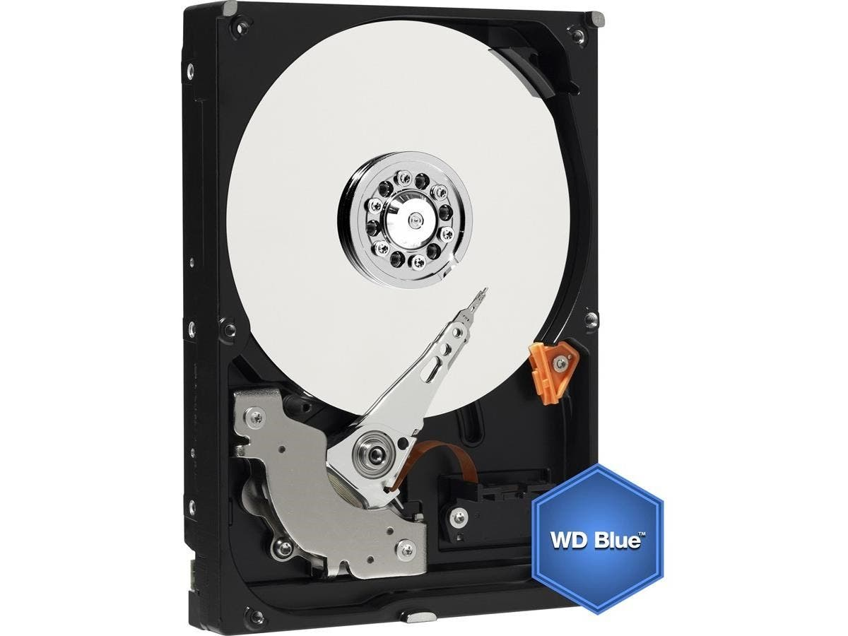 WD Blue 750GB Mobile Hard Disk Drive - 5400 RPM SATA 6 Gb/s 9.5 MM 2.5 Inch - WD7500BPVX-Large-Image-1