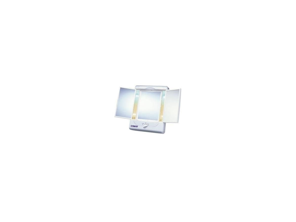 Conair Illumina Two Sided Lighted Make-Up Mirror - Rectangular