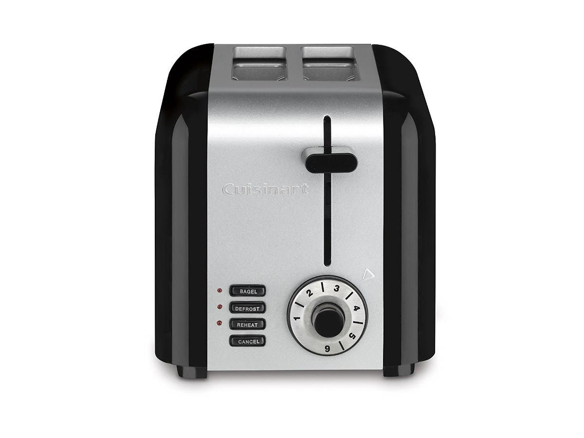 Cuisinart CPT-320 Compact Stainless 2-Slice Toaster - Brushed Stainless