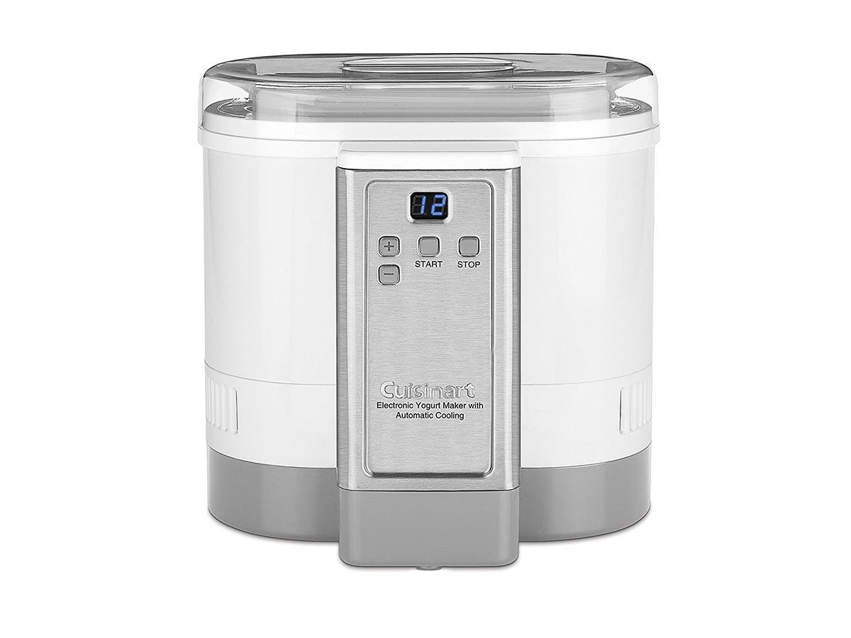 Cuisinart CYM-100 Electronic Yogurt Maker with Automatic Cooling,3.12lb Jar capacity,(1.5L) -Large-Image-1