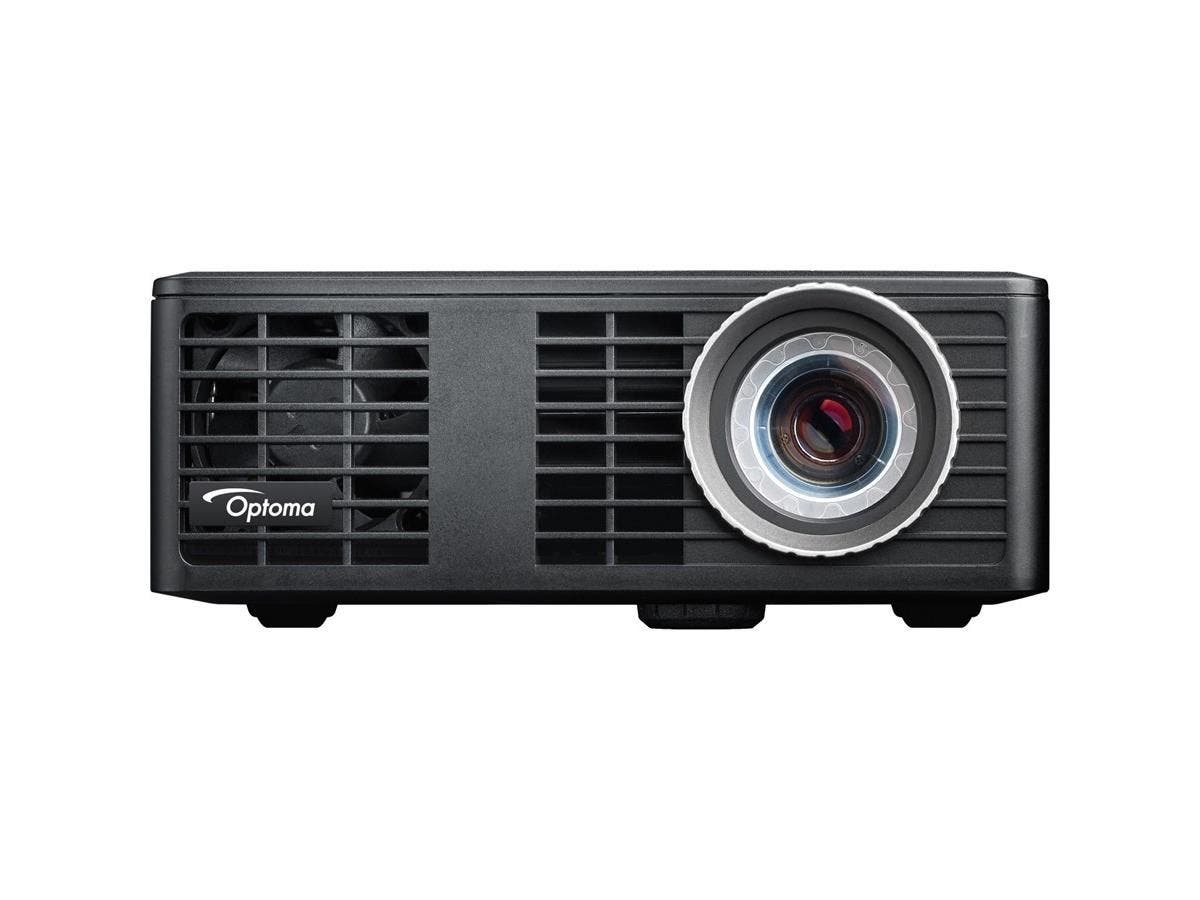 Optoma ML550 WXGA 500 Lumen 3D Ready Portable DLP LED Projector with MHL Enabled HDMI Port - 2 - LED - SECAM, NTSC, PAL - 20000 Hour Normal Mode - 1280 x 800 - WXGA - 10,000:1 - 550 lm - HDMI-Large-Image-1