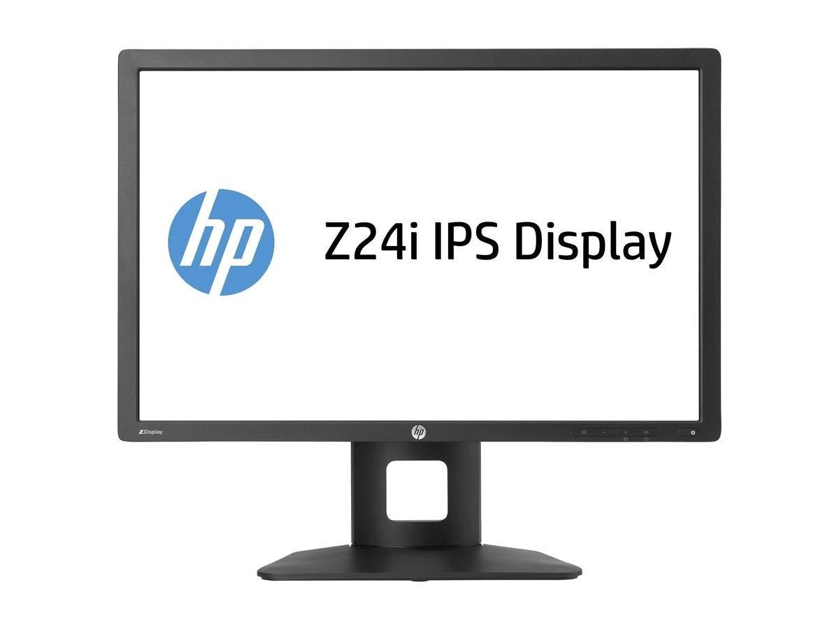 "HP Business Z24i 24"" LED LCD Monitor - 16:10 - 8 ms - Adjustable Display Angle - 1920 x 1200 - 300 Nit - 1,000:1 - WUXGA - DVI - VGA - DisplayPort - USB - 55 W - Black - ENERGY STAR, EPEAT Gold"